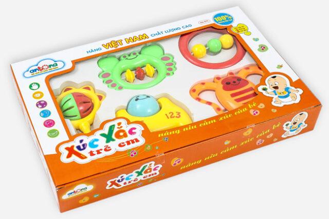 Ví dụ về một hộp đồ chơi in đẹp
